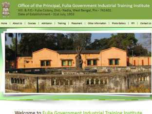 Office of the Principle, Fulia Government Industrial Training Institute