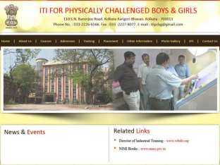 ITI for Physically Challenged Boys & Girls