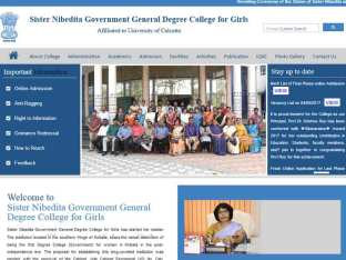 Sister Nibedita Government General Degree College for Girls